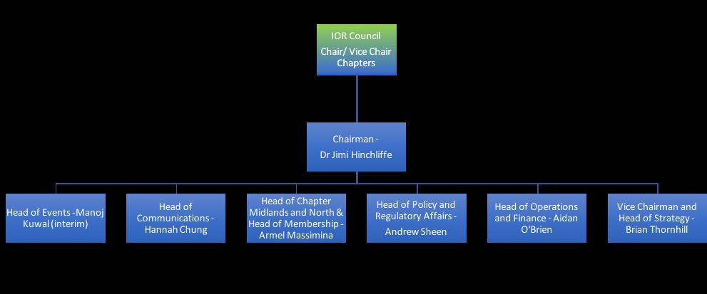 IOR Governance Chart