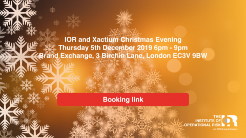 IOR and Xactium Christmas Evening 2019